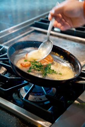 Saute fish