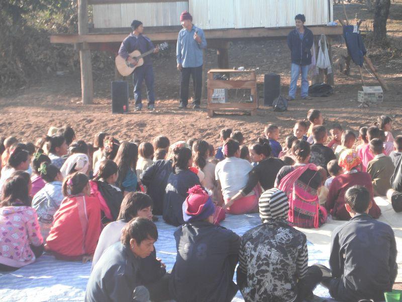Gospel preaching